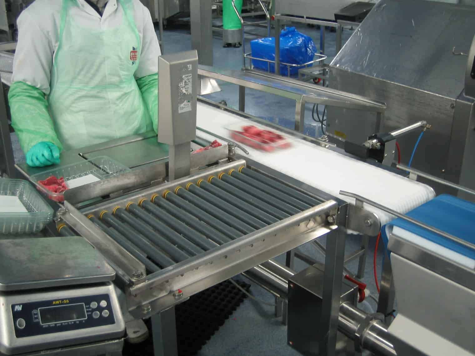 Stainless Steel Conveyor Material Handling