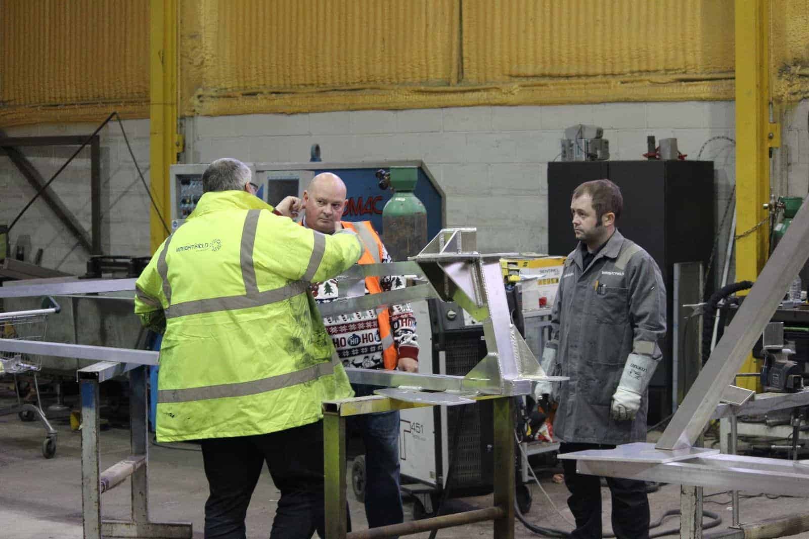 Engineering Repair And Maintenance Services To The Food Sector Conveyor System Manufacturers Conveyor Maintenance Wrightfield Ltd Residential Architectural Steelwork