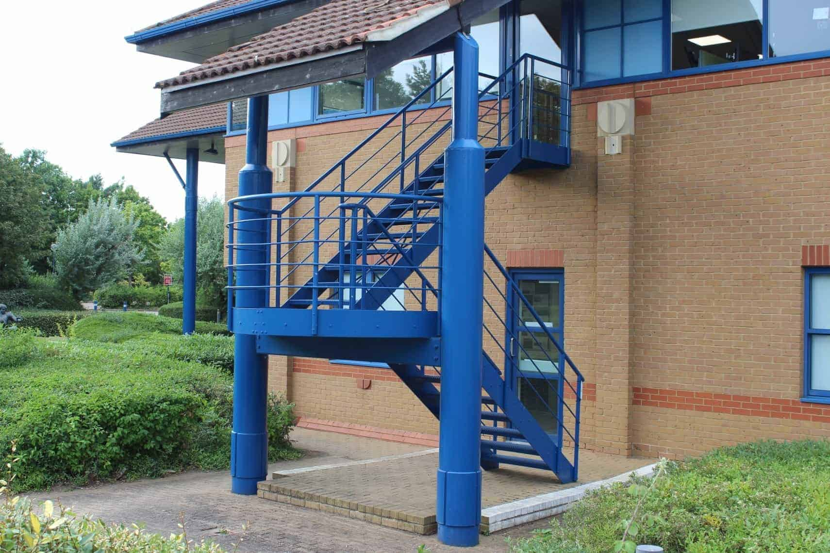 External Metal Staircases