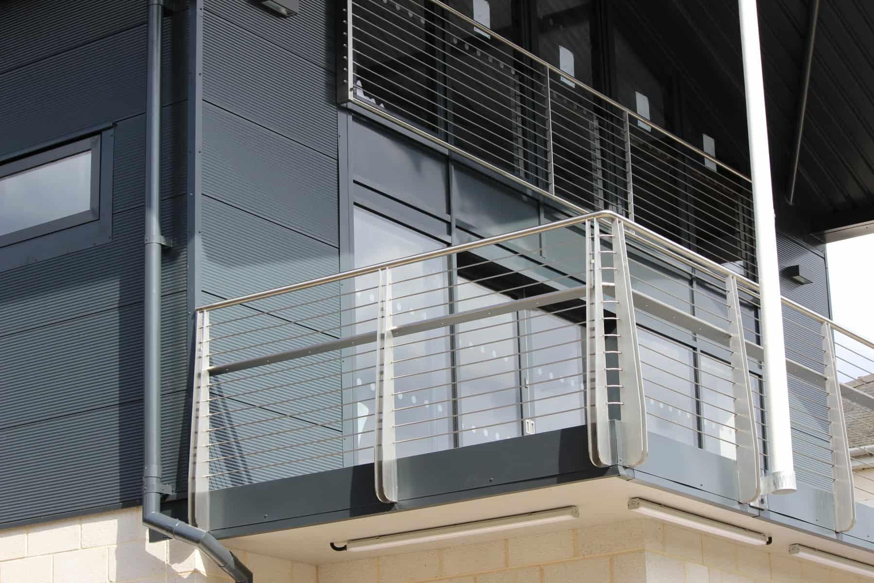 Juliet Balcony City Of Cambridge Rowing Club Balcony Corner Outside Wrightfield Ltd 2