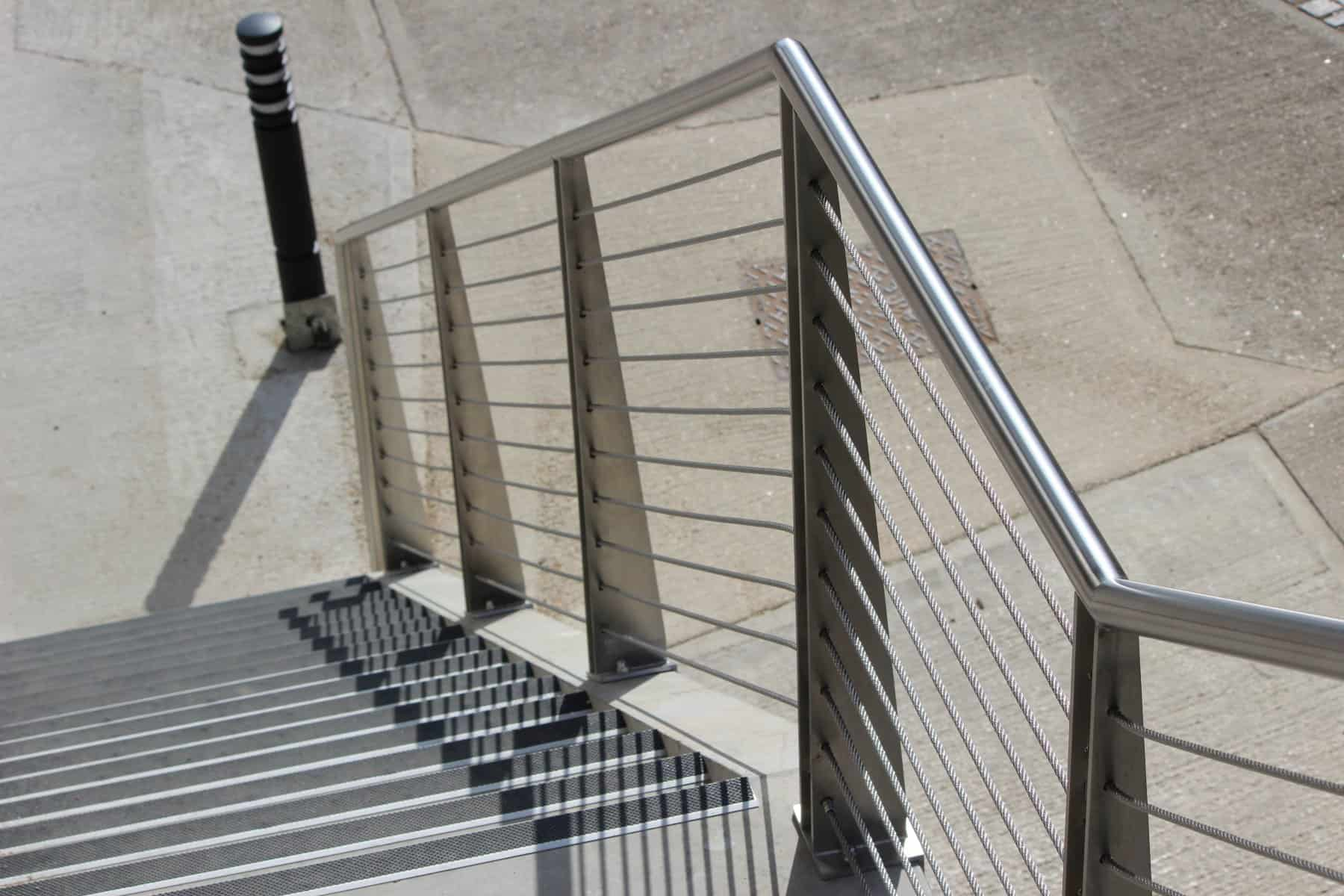 Stainless Steel Steps & Handrails Wrightfield Conveyor Systems